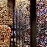 Collage VERONA - Romeo and Julia wall of love